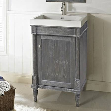 "143V21 2 - 21"" Fairmont Designs Rustic Chic Vanity/Sink Combo"