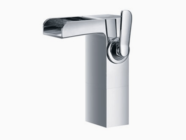 artos vessel 1 - Artos Kascade contemporary  Waterfall Faucet, Semi