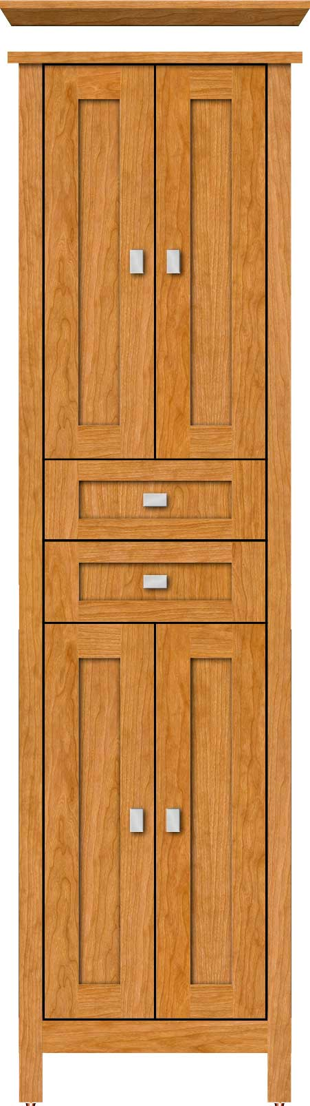 alkilinen - Strasser Woodenworks Alki Linen Tower, 4 Door Styles, 15 Finishes