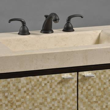 """02261110300a - 36"""" Ambella Home Luster Sink Chest"""