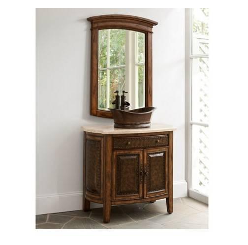 """06637110301 - 36"""" Ambella Home Rustico Vessel Vanity"""