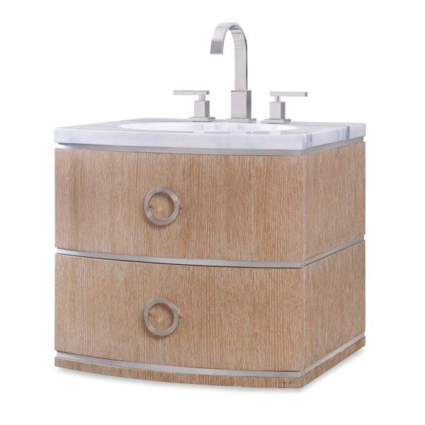 "07231110101 600x600 - 24"" Ambella Home Cirque Petite Wall Sink Chest"