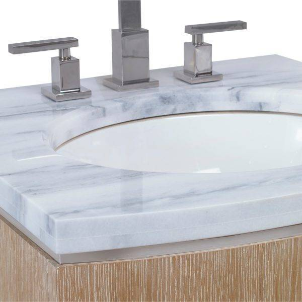 "07231110101A 600x600 - 24"" Ambella Home Cirque Petite Wall Sink Chest"