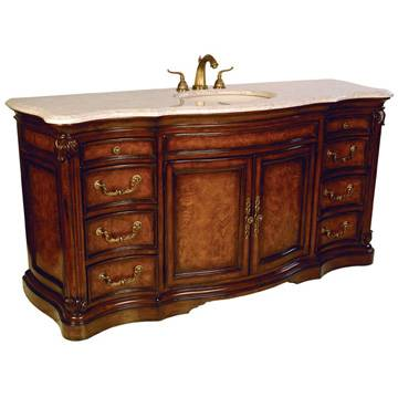 "08258 110 301 - 72"" Ambella Home Four Seasons Sink Chest"