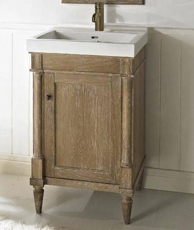 "142V21 - 21"" Fairmont Designs Rustic Chic Vanity/Sink Combo"