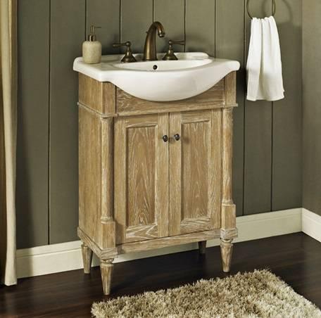 26 fairmont designs rustic chic euro vanity combo - Bathroom vanity and medicine cabinet combo ...