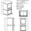 "1502 hts 1 100x100 - 48"" Fairmont Designs Framingham Vanity"