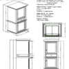 "1502 hts 100x100 - Fairmont Designs Framingham  21"" Linen Tower"