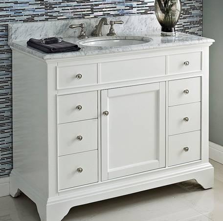 """1502V42 - 42"""" Fairmont Designs Framingham Vanity"""
