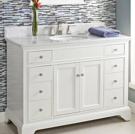 """1502V48 - 48"""" Fairmont Designs Framingham Vanity"""