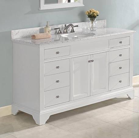 """1502V60 - 60"""" Fairmont Designs Framingham Vanity"""
