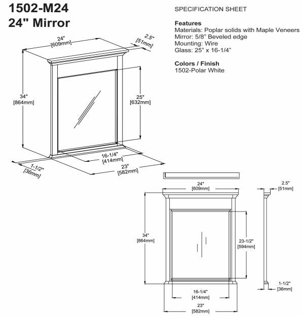 "1502m24s 1 - 72"" Fairmont Designs Framingham Double Sink Vanity"
