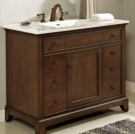"42"" Fairmont Designs Smithfield Vanity - Bathroom Vanities ..."