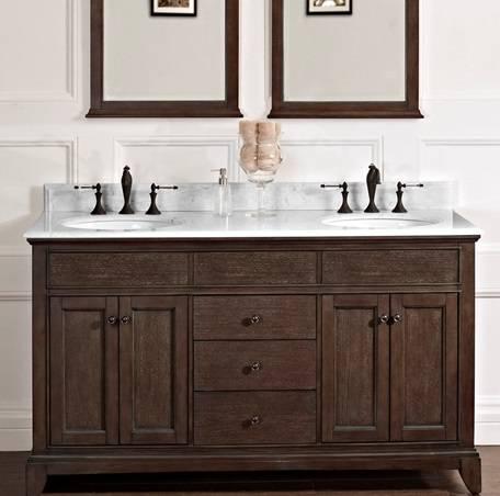 "60"" Fairmont Designs Smithfield Double Sink Vanity ..."