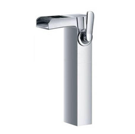 """1504V2118 2 - Artos Kascade Waterfall Faucet, Vessel 9.5"""" Aerator"""