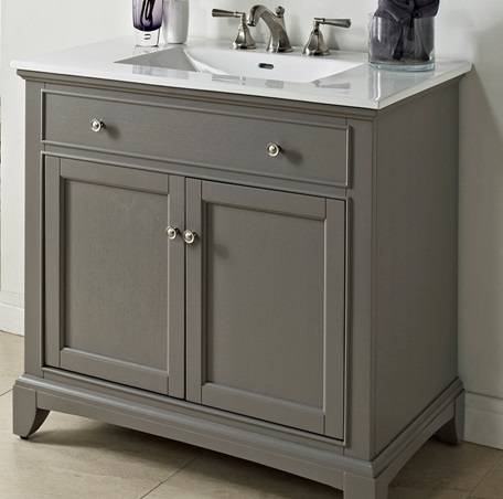 """1504V36 - 36"""" Fairmont Designs Smithfield Vanity"""