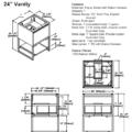 "1505 v24s 120x120 - 24"" Fairmont Designs m4 Vanity"