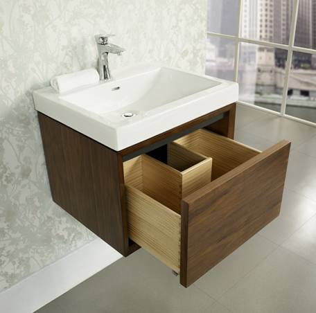"1505wv2118a - 21"" Fairmont Designs m4 Wall Mounted Vanity/Sink Combo"