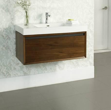 36 Fairmont Designs M4 Wall Mount Vanity Sink Combo Bathroom Vanities And More