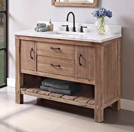 "1507VH48 - 48"" Fairmont Designs Napa Vanity"