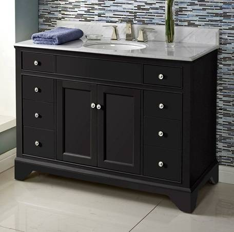 "48"" Fairmont Designs Framingham Vanity - Bathroom Vanities ..."
