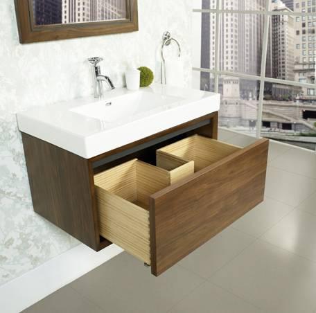 """30"""" Fairmont Designs m4 Wall Mount Vanity/Sink Combo ..."""