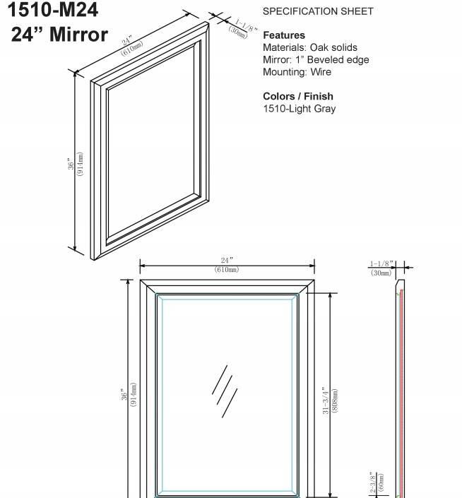 "1510m24s - 48"" Fairmont Designs Charlottesville Vanity"
