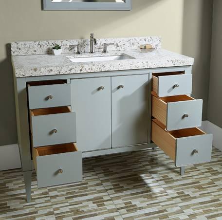 """1510v48aa - 48"""" Fairmont Designs Charlottesville Vanity"""
