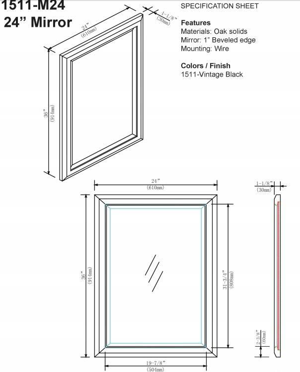 "1511m24s - 60"" Fairmont Designs Charlottesville Double Sink Vanity"