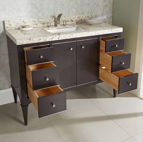 """1511v48aa - 48"""" Fairmont Designs Charlottesville Vanity"""