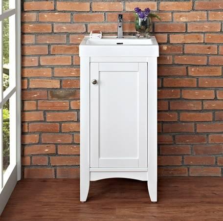 "1512V1816 1 - 18"" Fairmont Designs Shaker Americana Vanity/Sink Combo"
