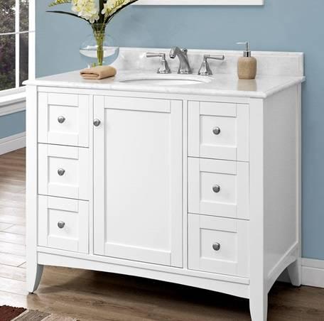 "1512V42 - 42"" Fairmont Designs Shaker Americana  Vanity"