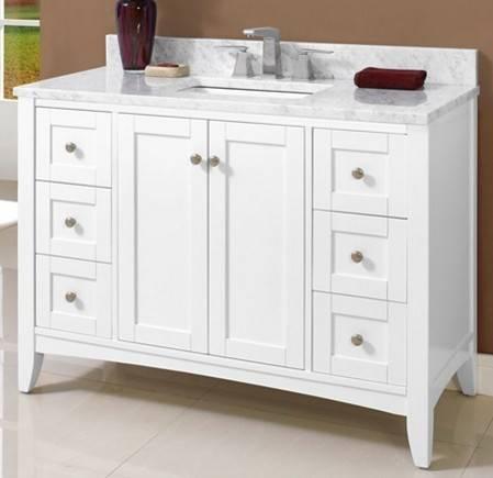 "1512V48W - 48"" Fairmont Designs Shaker Americana  Vanity"