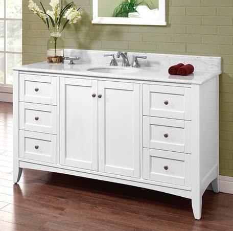 "1512V60 - 60"" Fairmont Designs Shaker Americana  Vanity"