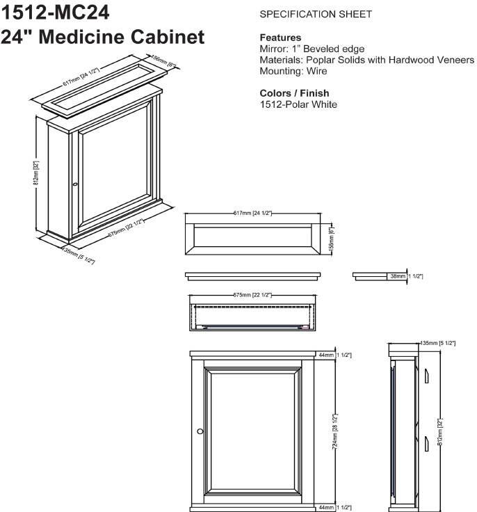 "1512mc24s - 60"" Fairmont Designs Shaker Americana Double Sink Open Shelf Vanity"