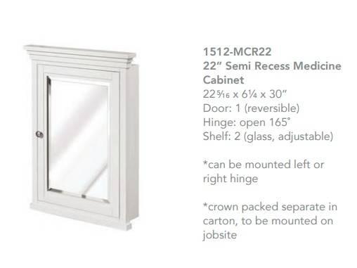 "1512mcr22 - 60"" Fairmont Designs Shaker Americana Double Sink Open Shelf Vanity"
