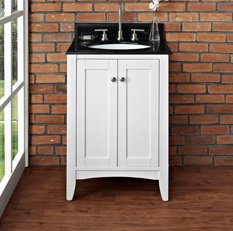 "1512v24 - 24"" Fairmont Designs Shaker Americana  Vanity"