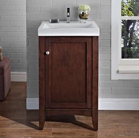 "1513V2118 - 21"" Fairmont Designs Shaker Americana Vanity/Sink Combo"