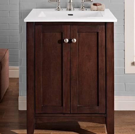 "1513V24 - 24"" Fairmont Designs Shaker Americana Vanity"