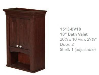 "1513bv18 - 30"" Fairmont Designs Shaker Americana Vanity"