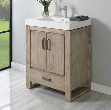 30 fairmont designs oasis vanity sink combo bathroom - Bathroom vanity and medicine cabinet combo ...
