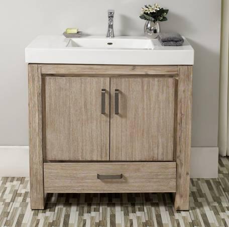 """36"""" Fairmont Designs Oasis Vanity/Sink Combo - Bathroom ..."""