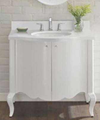 "1532V36 - 36"" Fairmont Designs Belle Fleur Vanity"