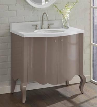"1534V36 - 36"" Fairmont Designs Belle Fleur Vanity"