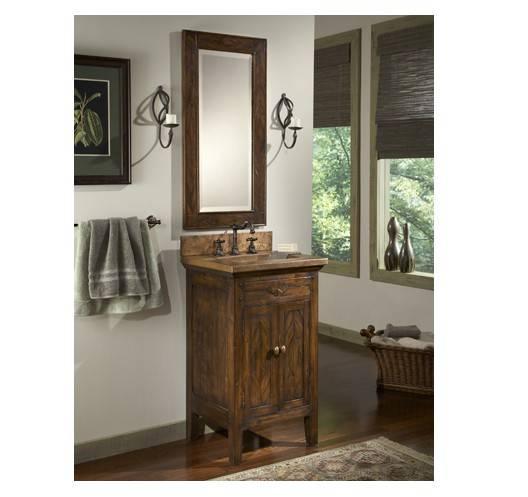 "17518wmirror - 22"" Ambella Home Cobre Petite Sink Chest"