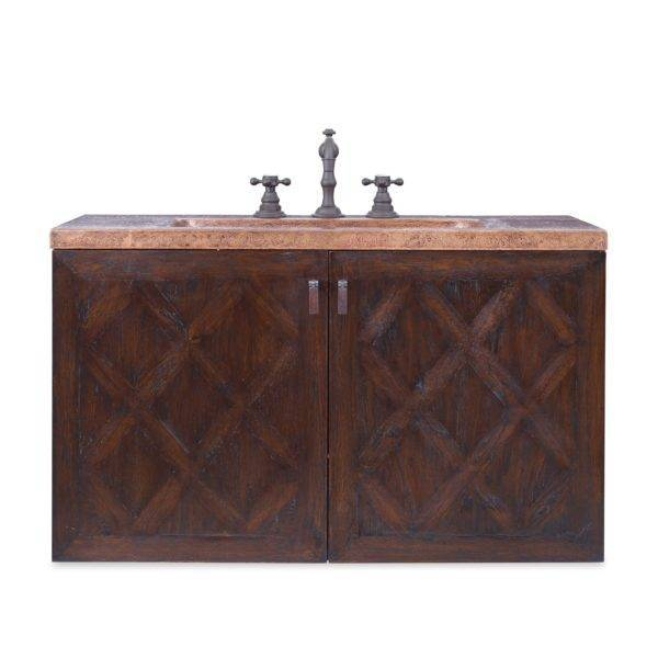 "17563110209a 600x600 - 34"" Ambella Home Cobre Wall Mounted Sink Chest"