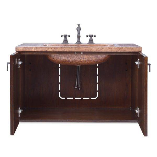 "17563110209b 600x600 - 34"" Ambella Home Cobre Wall Mounted Sink Chest"