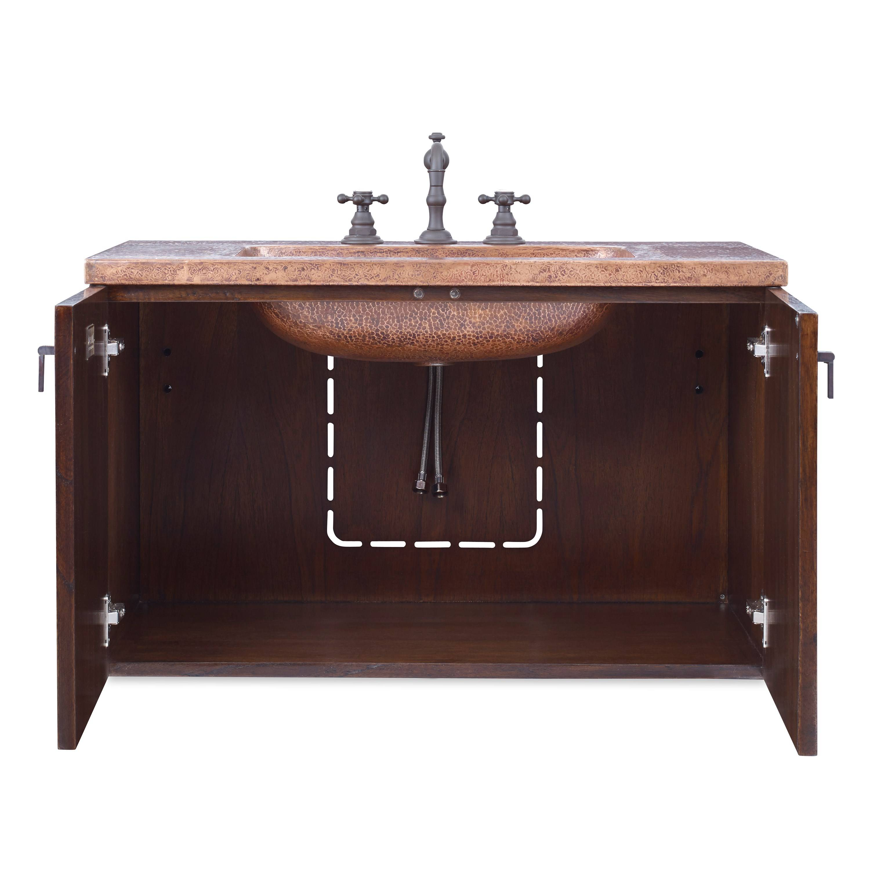 34 Quot Ambella Home Cobre Wall Mounted Sink Chest Bathroom Vanities And More