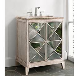"""27046110201 - 30"""" Ambella Home Escher Sink Chest- White 27046-110-201"""