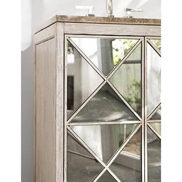 """27046110201c - 30"""" Ambella Home Escher Sink Chest- White 27046-110-201"""